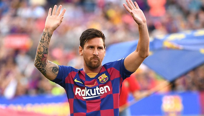 Lionel Messi is an Argentine and Barcelona's Professional Football star