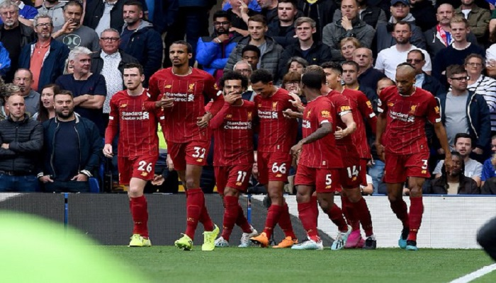 Liverpool reached the Champions League last 16