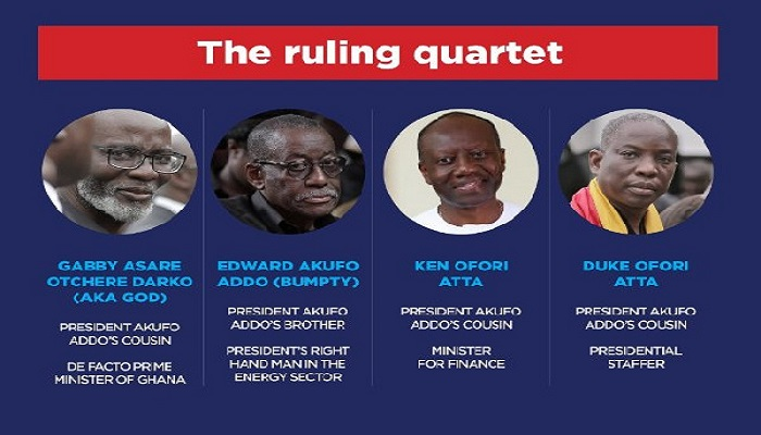 Some relations of President Akufo-Addo