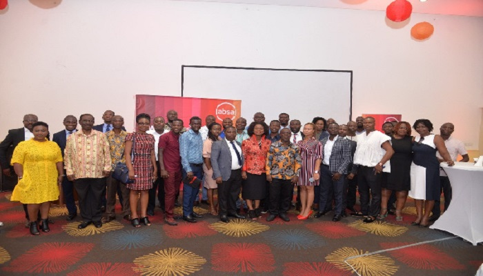 A group picture with SME customers that embarked on the trade trip