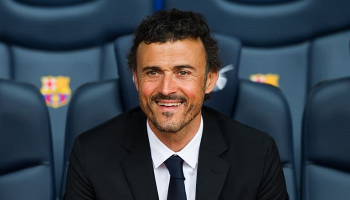 Luis Enrique's last game in charge of Spain was in March