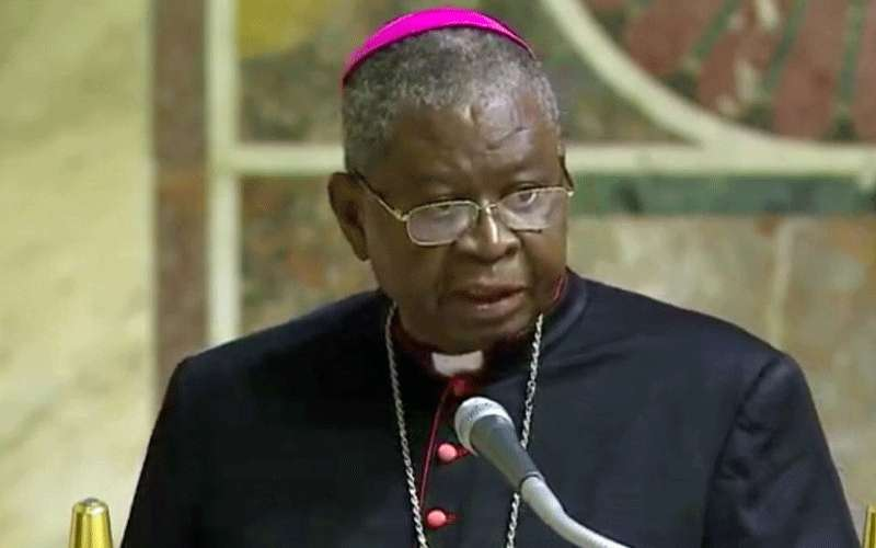 President of Ghana Catholic Bishops's Conference, Most Rev. Philip Naameh