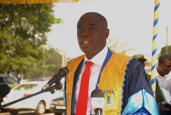 Vice-Chancellor of the University of Professional Studies, Professor Abednego Feehi Okoe Amartey