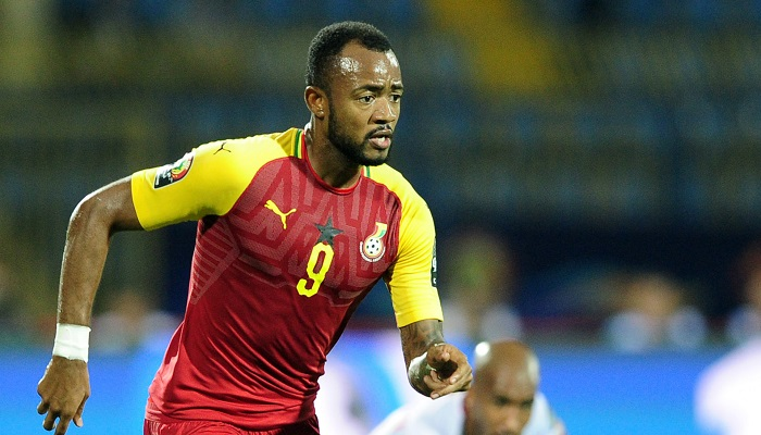Black Stars striker , Jordan Ayew