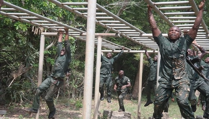 Some personnel of the Ghana Armed Forces