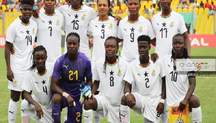 A file photo of the Black Queens of Ghana