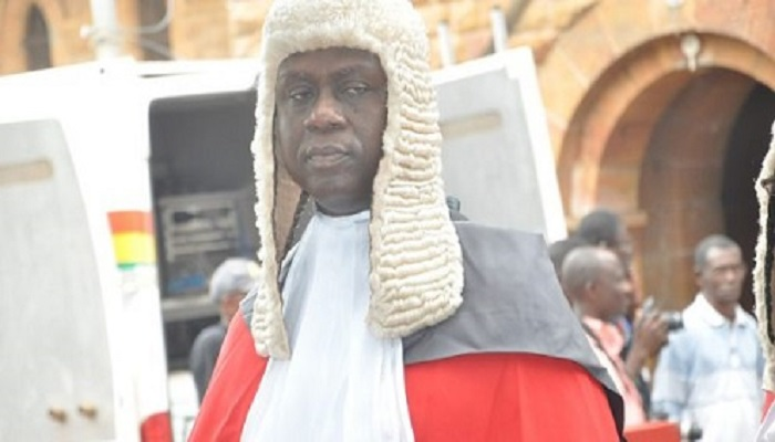 Justice Anin Yeboah, a Justice of the Supreme Court