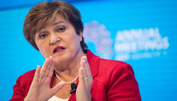IMF boss Kristalina Georgieva  Managing Director of the International Monetary Fund