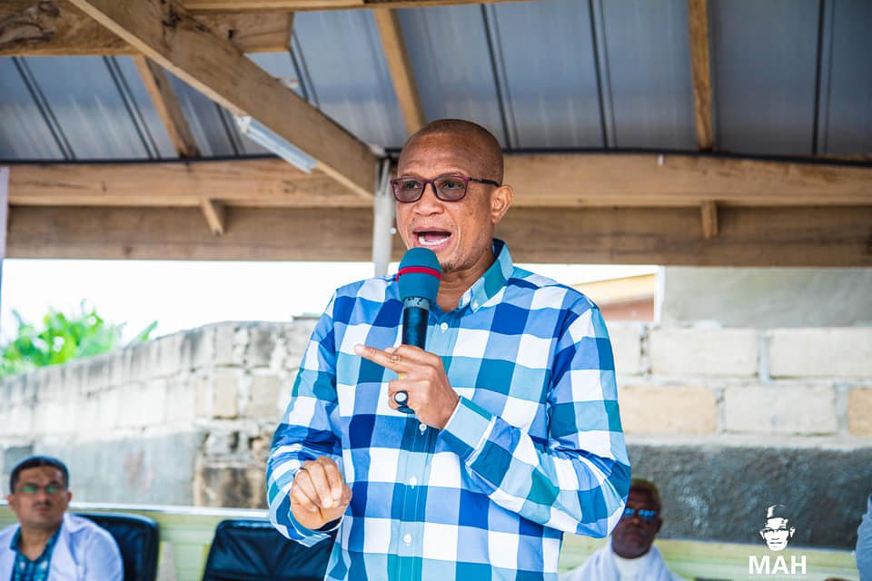 Minister for Inner City and Zongo Development, Mustapha Abdul-Hamid