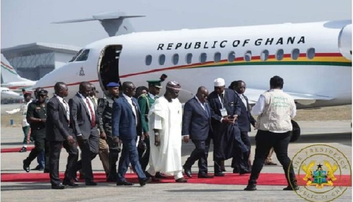 President Akufo-Addo and some ECOWAS Heads of State