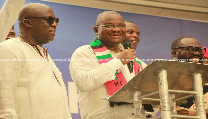 Members of the NDC at NPP's National Delegates' Conference
