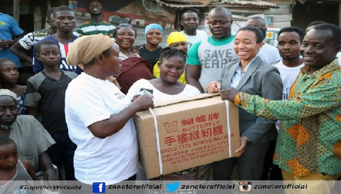 Dr Agyeman Rawlings charged the recipients to put the sewing machines to good use