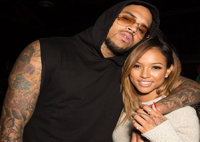 Chris Brown and Ammika Harris