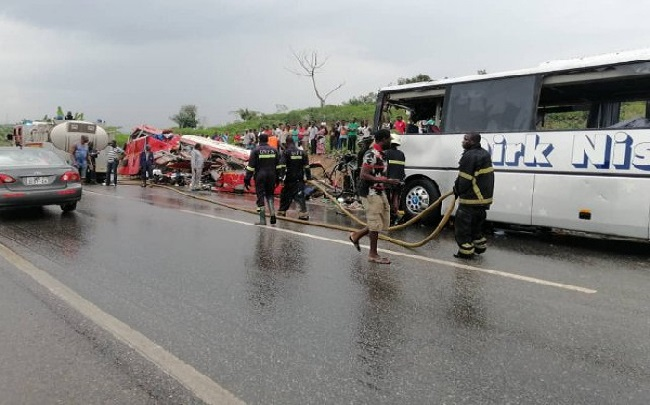 34 people lost their lives in the accident