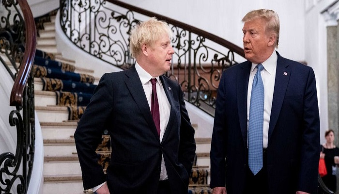 Trump agrees with British PM Johnson on a 'Trump deal' for Iran