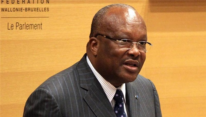 Burkina Faso President, Roch Marc Christian Kabore