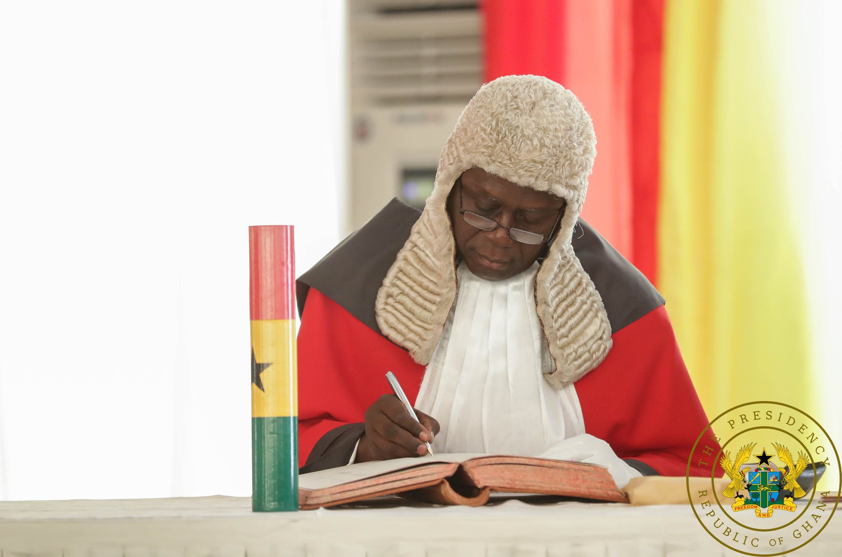 Chief Justice, Kwasi Anin-Yeboah