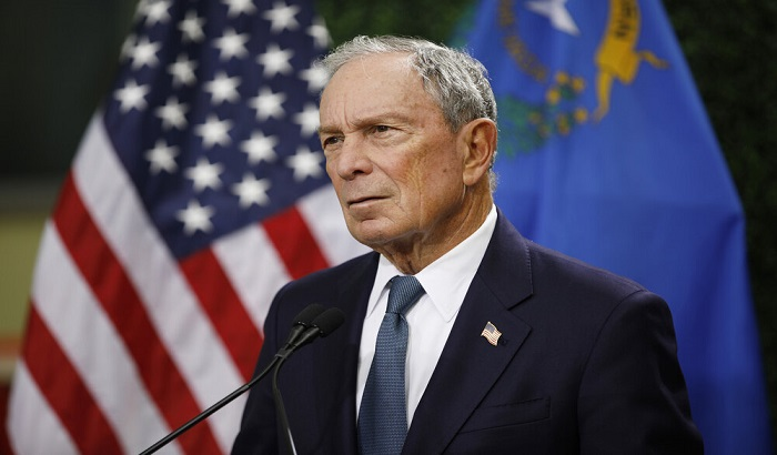 'I'm spending all my money to get rid of Trump' - Michael Bloomberg