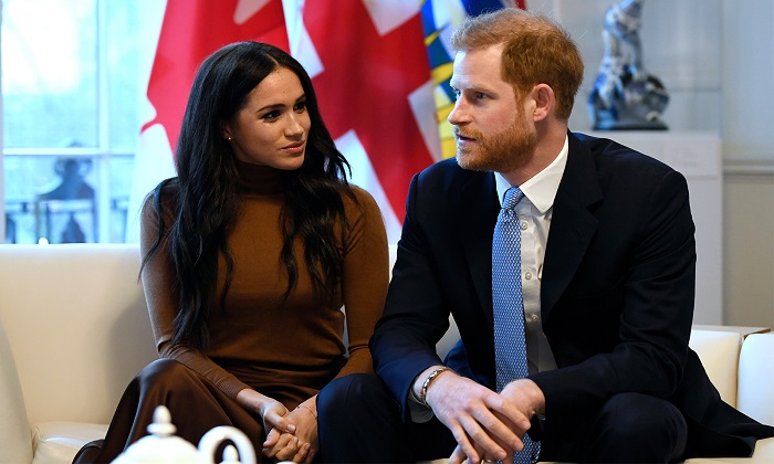 Prince Harry and Wife, Meghan