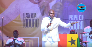 Prophet Oduro is Head Pastor at the Alabaster Ministries