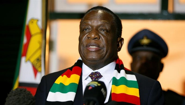 President Mnangagwa blamed Western nations for stirring up dissent