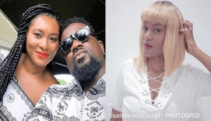 Sarkodie and his wife