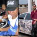 Ibrah one's daughter driving on highway