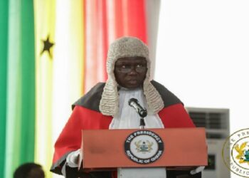 Justice Kwesi Anin Yeboah, Chief Justice