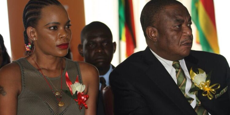 Marry Mubaiwa was charged with attempting to murder the vice-president