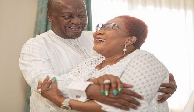 Mr and Mrs Mahama