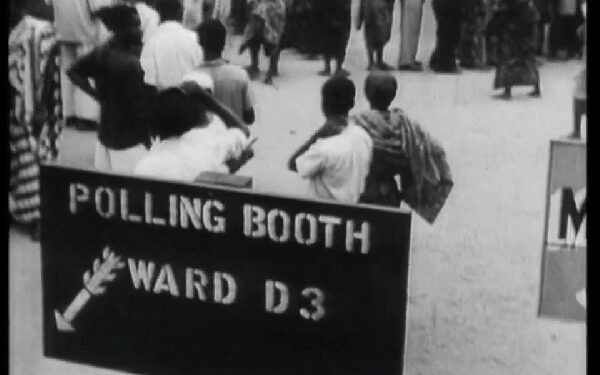 This was the first election to be held in Africa under universal suffrage