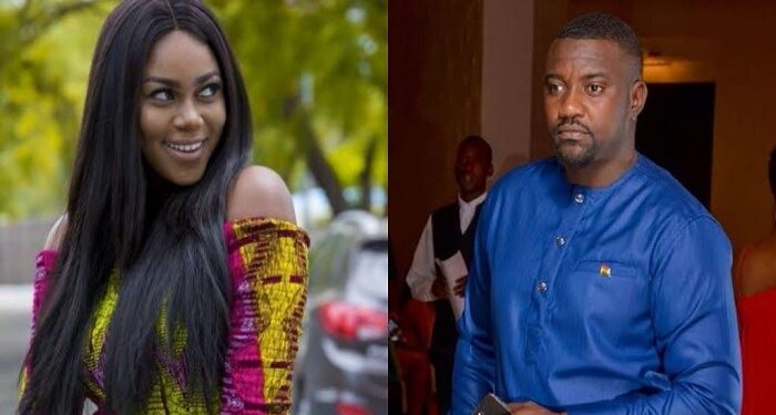 Yvonne Nelson and John Dumelo are very good friends