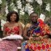 Kwame Despites's son, Kennedy and wife
