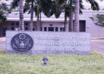 The United States (US) Embassy in Ghana