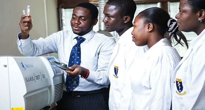 File Photo of Some students of University of Ghana Medical School