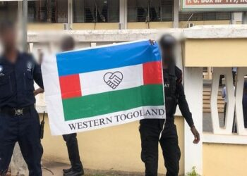 Residents of the Volta Regional capital, Ho, woke up to the flag of the Western Togoland secessionist group flying at full mast at the premises of the Volta Regional Coordinating Council