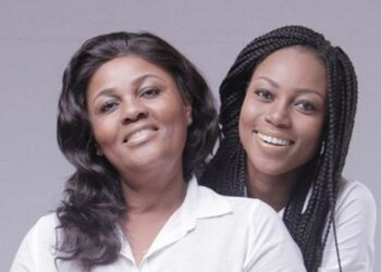 Yvonne Nelson and mother