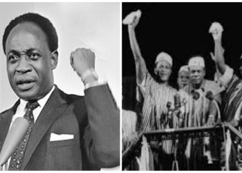 Dr Kwame Nkrumah became the first prime minister of the Gold Coast