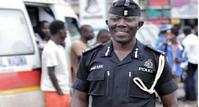 Commissioner in charge of police administration, George Akuffo Dampare