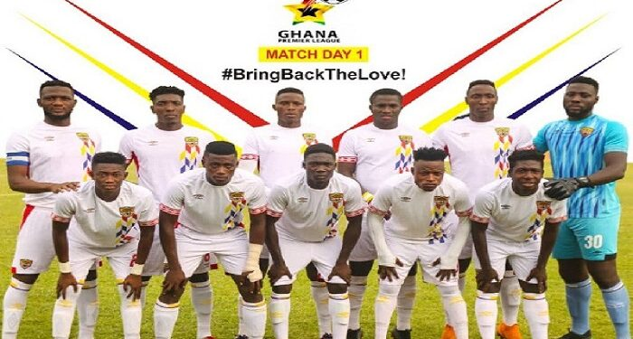 Accra Hearts of Oak players