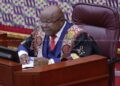 Speaker of Parliament, Prof Aaron Mike Oquaye