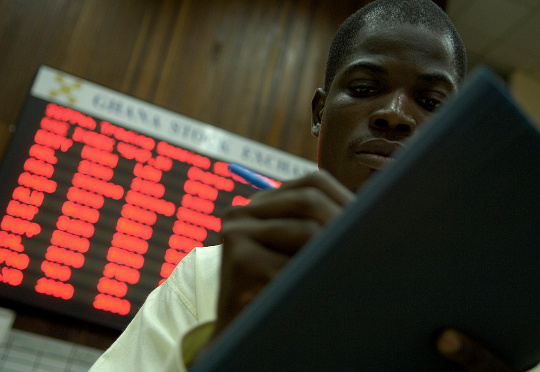 Trading activity surged as 5,836,214 shares valued at GH¢3,736,899