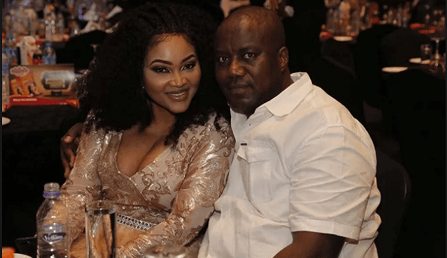 Mercy Aigbe  and Lanre Gentry