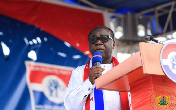 Freddie Blay, the National Chairman, NPP