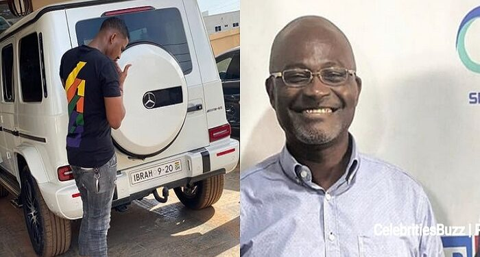 Kennedy Agyapong and Ibrah One