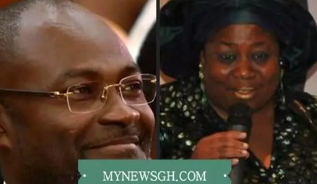 Kennedy Ohene Agyapong and wife