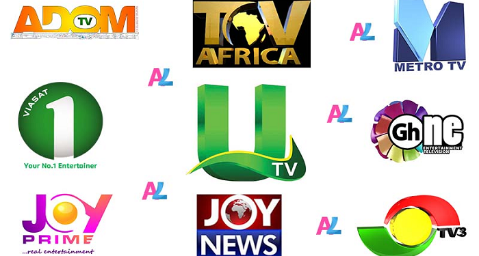 File photo of some TV Stations