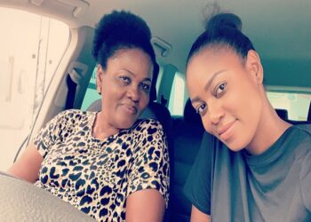 Yvonne Nelson and mum