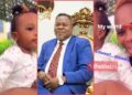 Akua Amoakowaa flaunts her daughter with Dr Kwaku Oteng for the first time