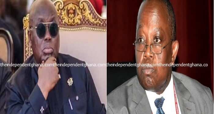 President Akufo-Addo has ordered Auditor General Daniel Domelevo to proceed on his accumulated mandatory leave